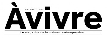 Logo A Vivre magazine maison contemporaine