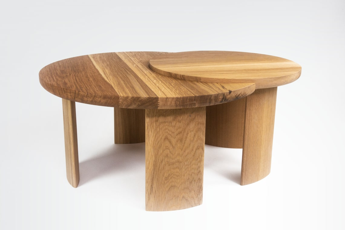 Table Basse MoonSun en chêne